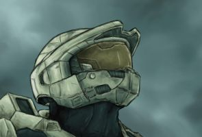 Master Chief - Halo 3 by DanieltheNinja