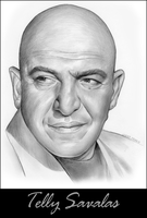 Telly Savalas by gregchapin