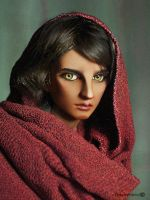 Van as Afghan Girl by Katyok