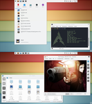 Arch Linux + KDE by simply-abel