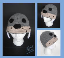 Walrus Crochet Hat by Silent--Haze