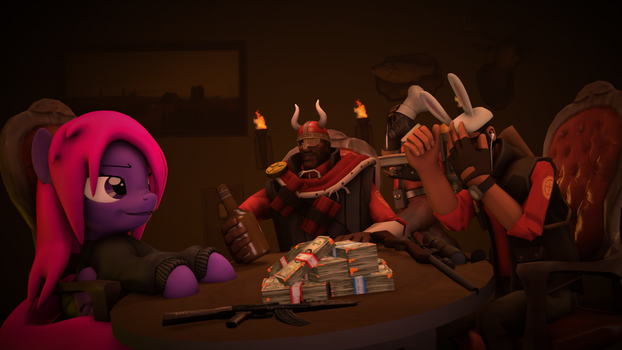 (SFM/4k) Discussing by SirCrocketThe1st
