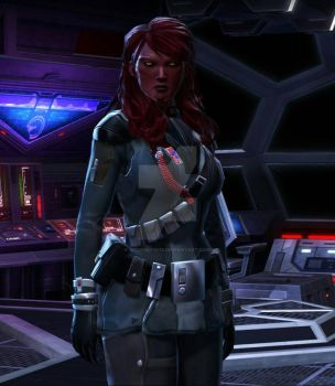 G'ranny my Dark V Sith Sith Inquisitor. by Beowulf1976