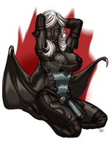 Drow Succubus by ProdigyDuck