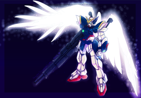 wing zero by Shinjukou