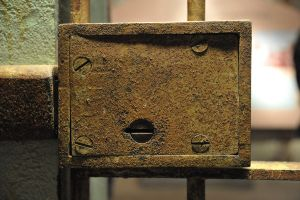 Old Cell Lock by Tom-Ennis-Photos