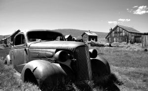 Decaying 37' Chevy by AlucardBremen