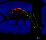 MS paint Rainbow test by Ash-Dragon-wolf