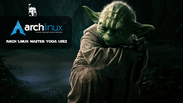 Master Yoda Arch Linux uses #02 by sistematico