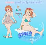 Mona has a pool party to host! by Sephiramy