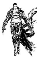 GOTHIC SUPERMAN by aaronminier