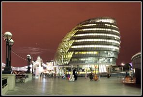 City Hall, London by Firebloom