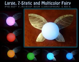 Large Multi-Color Fairy! by Linksliltri4ce