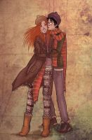 Harry and Ginny by ula387