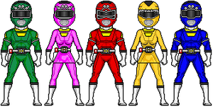 Power Rangers Turbo by MicroManED