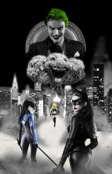 Batman movie poster by Jade-Abarai-Kat