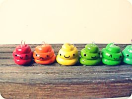 Cutie poo charms by ButterMakesYouFat