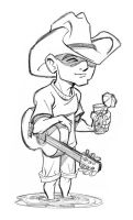 Kenny Chesney ala Tom B. by tombancroft