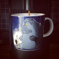 The Groke Coffe-cup by attomanen