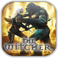 The Witcher Game Icon by Wolfangraul