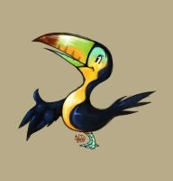 A Happy Toucan. by Goose-of-Stature