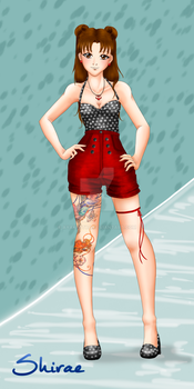 Rockabilly Style in Black and Red : TenTen by ayakestra