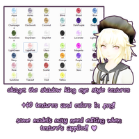 MMD: Okage Style Eyes | F2U  Texture Pack by InvaderIka