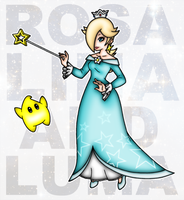 Rosalina and Luma by OutrealmGate