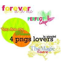 4 Lovers png by ArtsRocked