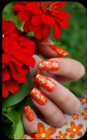 summer nails by Tartofraises