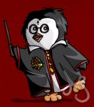 HP Penguins- Harry by Akei-Tyrian