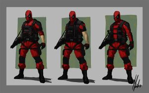 Deadpool Redesign by helioart