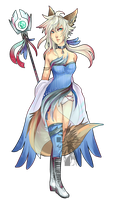 Celestial White Mage CLOSED Emergency Adopt by Ginsuke