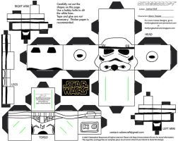 SW8: Storm Trooper Cubee by TheFlyingDachshund