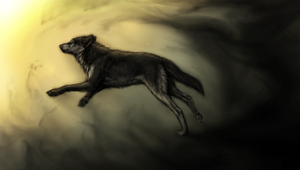 Run from Darkness by Canis-ferox