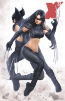 X-23 - X-Force (3 of 4) by SamDelaTorre