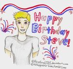 Steve's Birthday by Rosebud2001