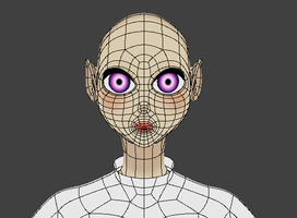 Anime Topology Update Without Hair by DraconianRain