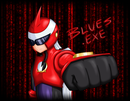 BLUES.EXE by Roksi10