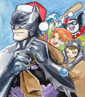 A Very Gotham Christmas by WeijiC