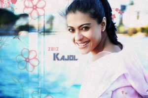 Simple beauty of Kajol by scarletartista