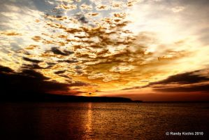 Jamaican sunset by digitalabstract