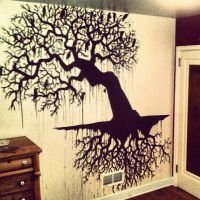 Tree Mural by Zorcsg