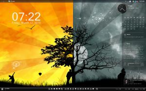 My Rainmeter Scheme by Shinde-Imasu