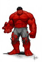 Red Keown Hulk Colour by SubZeroTolerance