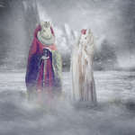 King And Queen Of Iceland by Lhianne