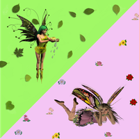 Spring and Summer Fae Pack by xxx-0x0-xxx