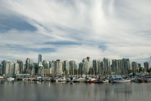Downtown Vancouver by SenseiSage