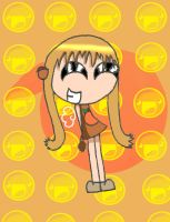 My Kawaii Humanized Peaches by PuccaFanGirl