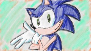 Art Academy: Sonic by Jeibi